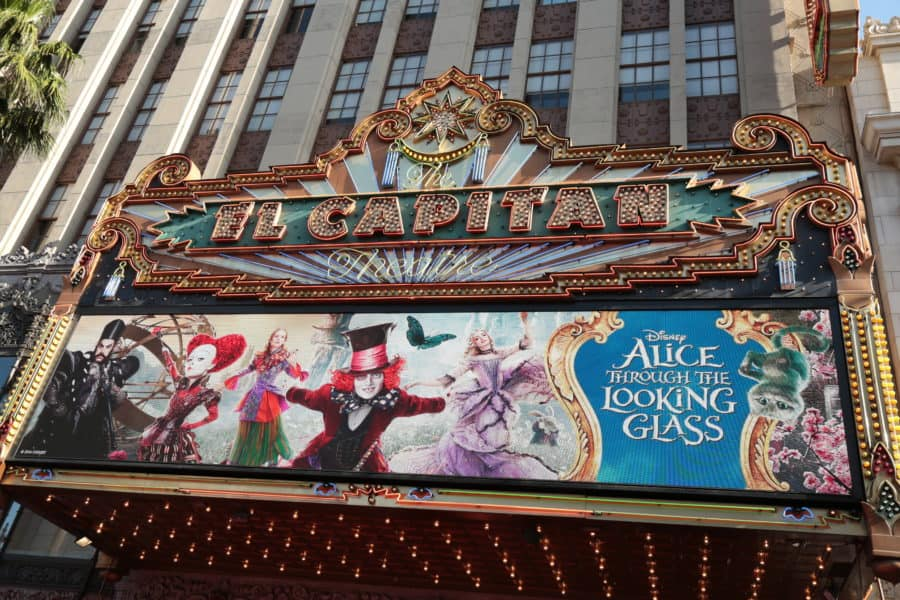 Alice Through The Looking Glass Premiere at the El Capitan Theater