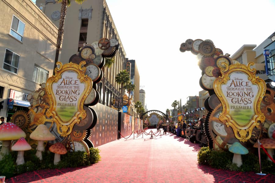 Disney's 'Alice Through the Looking Glass' Premiere