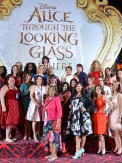 My supportive blogger friends and Red Carpet partners for the Alice Through The Looking Glass US Premiere