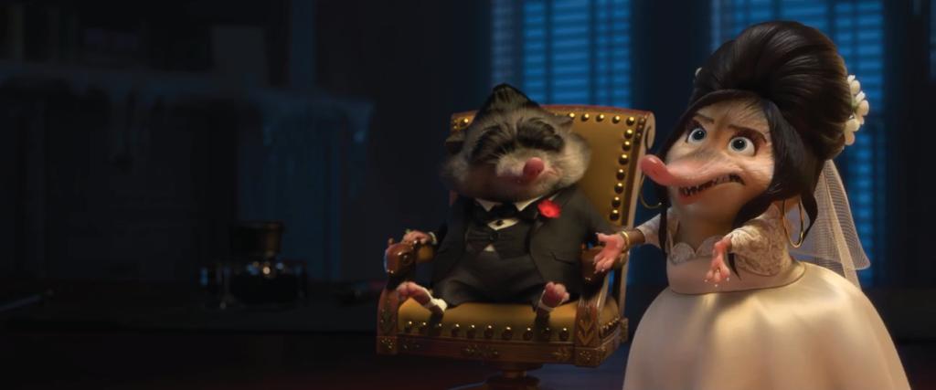 Disney's Zootopia - Mr. Big and Fru Fru icing scene