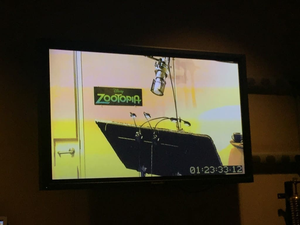 Disney Toon Studios - Sound Booth recording and voice acting experience