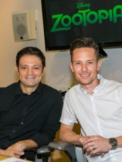 Renato Dos Anjos and Chad Sellers - Zootopia In-Home Global Press Event
