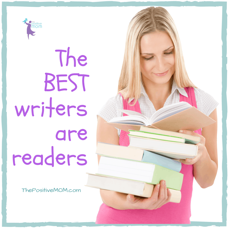 The best writers are readers - Elayna Fernandez ~ The Positive MOM