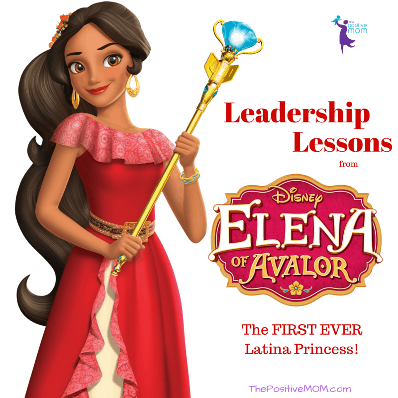 Elena Of Avalor - Latina Princess and Latina Leader