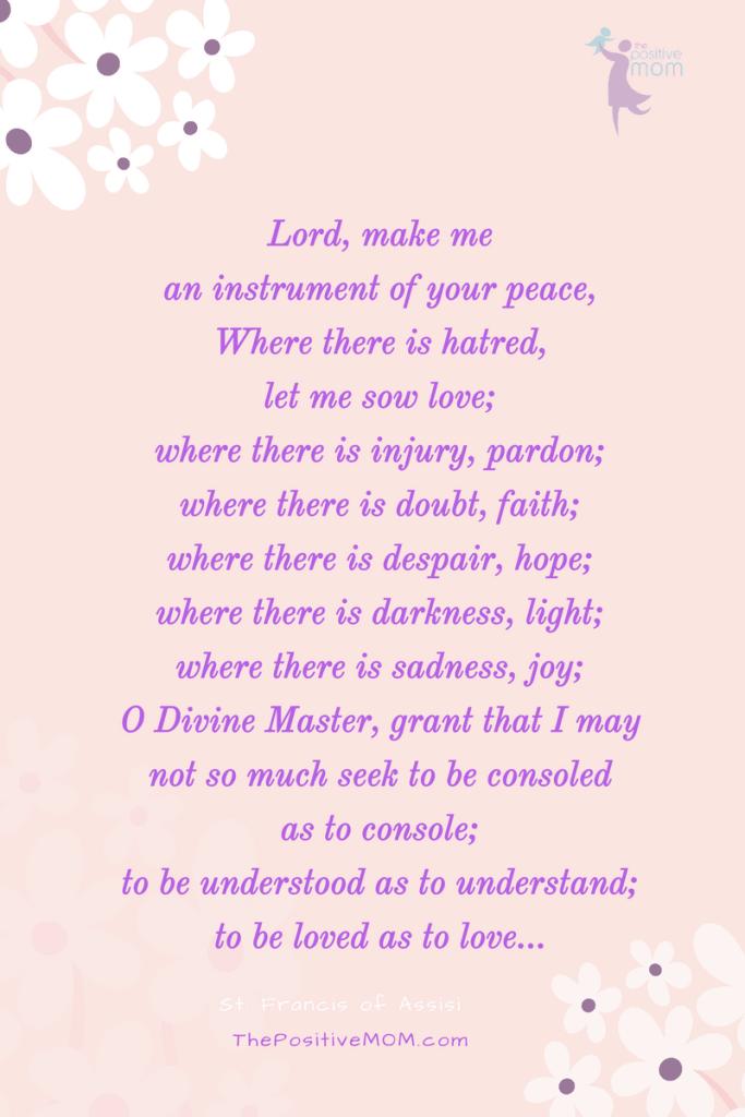 Francis of Assisi Prayer