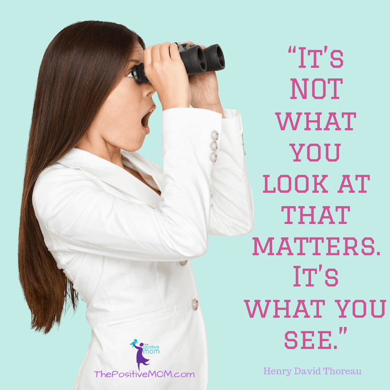It's not what you look at that matters, it's what you see! Henry David Thoreau quote