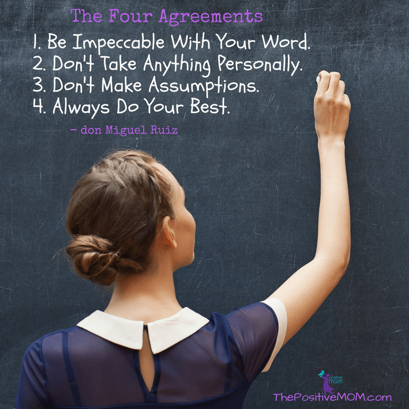 The Four Agreements - by don Miguel Ruiz