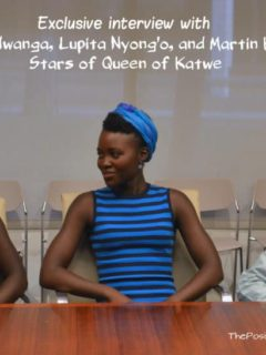 Exclusive interview with Madina Nalwanga, Lupita Nyongo, and Martin Kabanza, stars of Queen Of Katwe