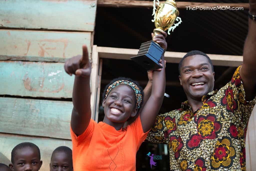 Disney's Queen Of Katwe true story, starting David Oyelowo (Robert Katende) and Madina Nalwanga (Phiona Mutesi)