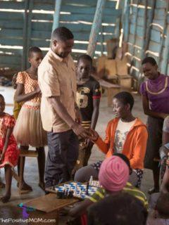Queen Of Katwe - chess prodigies and chess coach Robert Katende in Katwe, Kampala Uganda