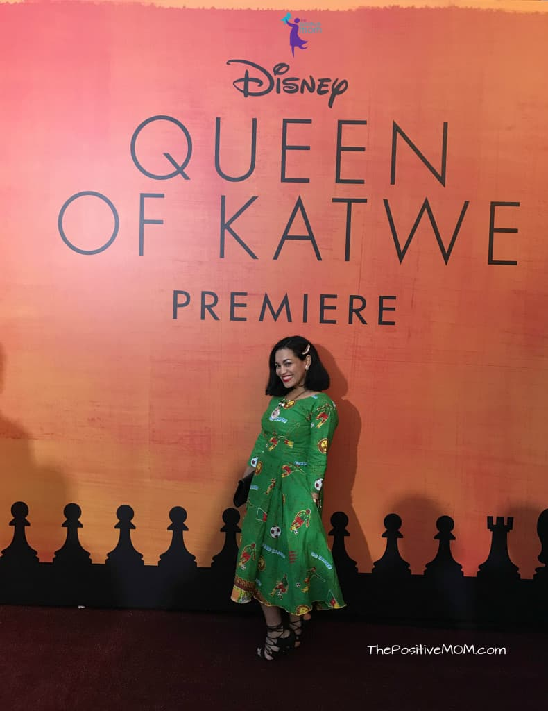 Queen Of Katwe Premiere and Red Carpet event on Hollywood Blvd
