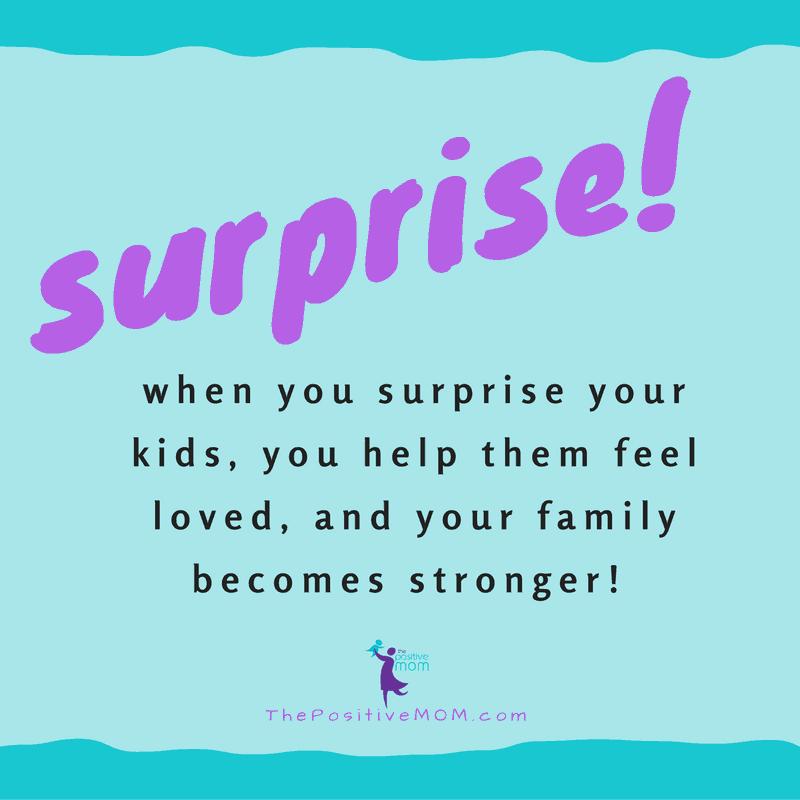 Surprise your kids