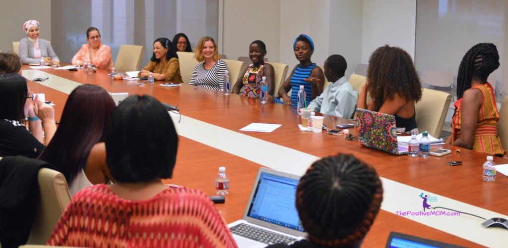Top 25 Disney bloggers interviewing Lupita Nyong'o, Martin Kabanza, and Madina Nalwanga