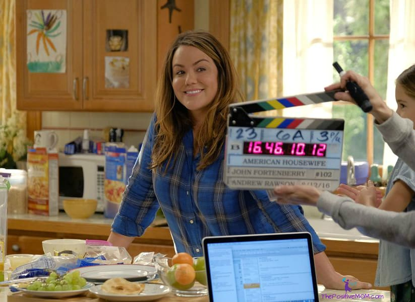 American Housewife - Katy Mixon and John Fortenberry behind the scenes