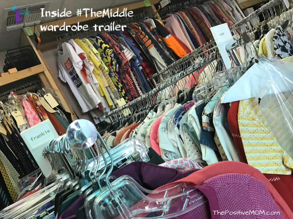 Inside The Middle wardrobe trailer - ABC Network sitcom