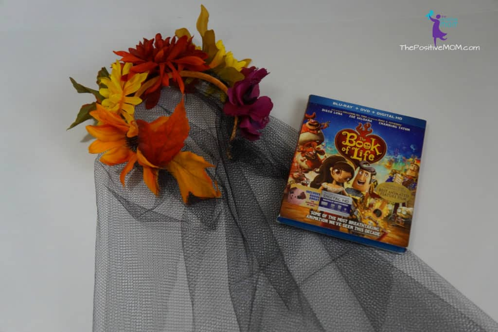 The Book of Life / Day of the Dead head piece craft