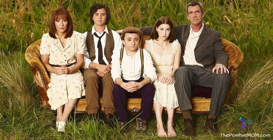 The Middle Season Premiere episode The Core Group - Tuesday nights on ABC - Patricia Heaton as Frankie, Neil Flynn as Mike, Charlie McDermott as Axl, Eden Sher as Sue and Atticus Shaffer as Brick.