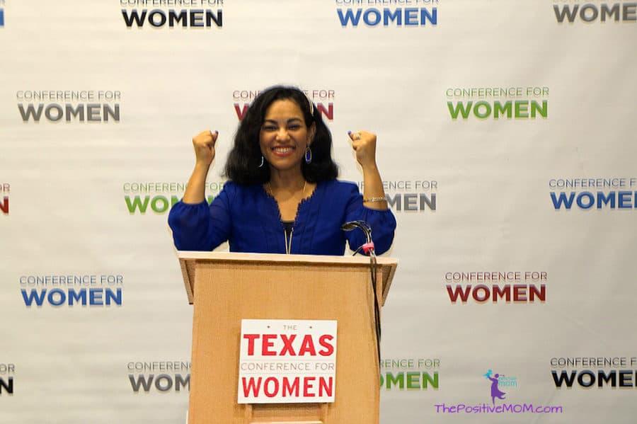 Texas Conference for Women - speaker Elayna Fernandez ~ The Positive MOM