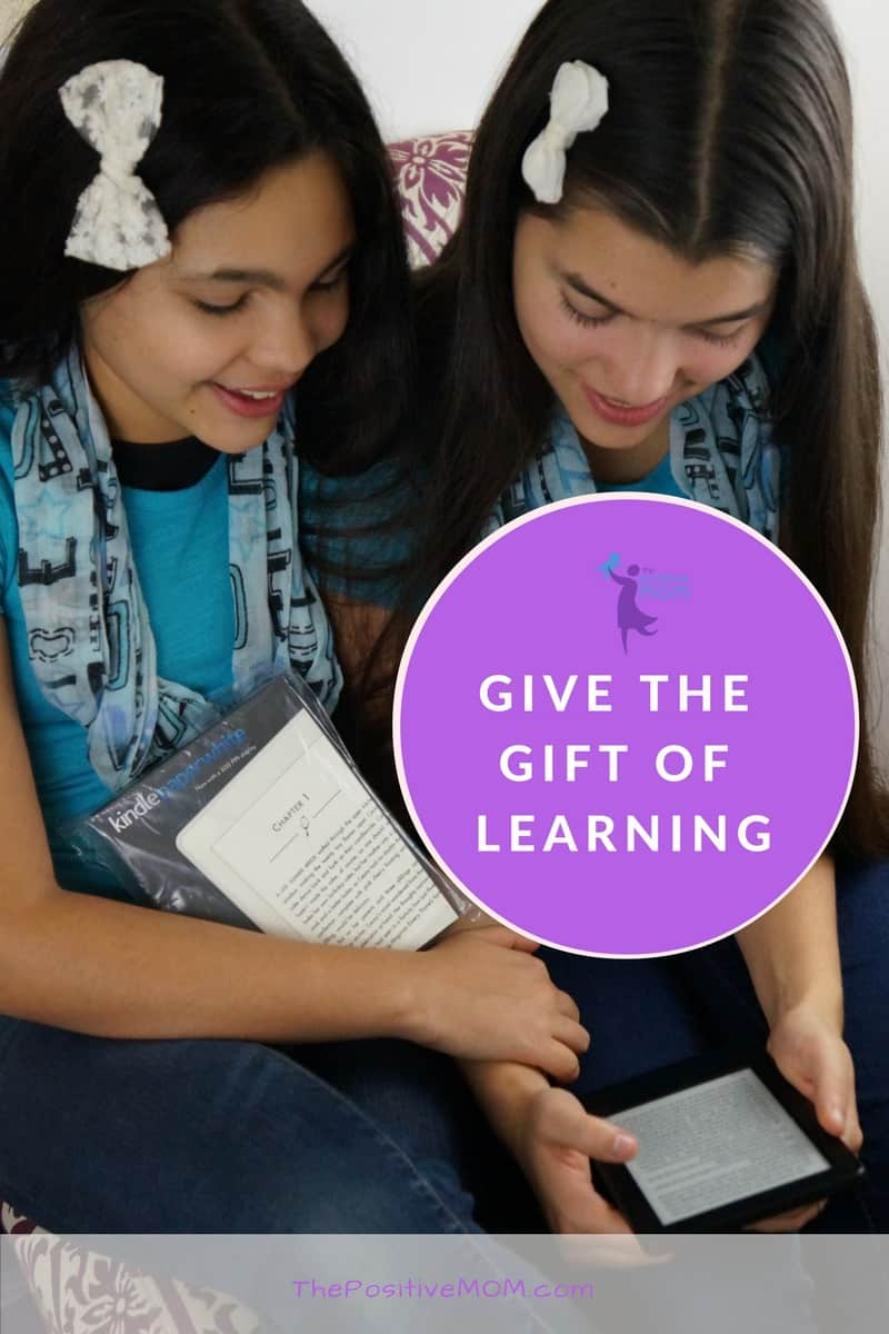 Give the gift of learning!