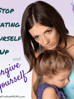 Stop beating yourself up and forgive yourself