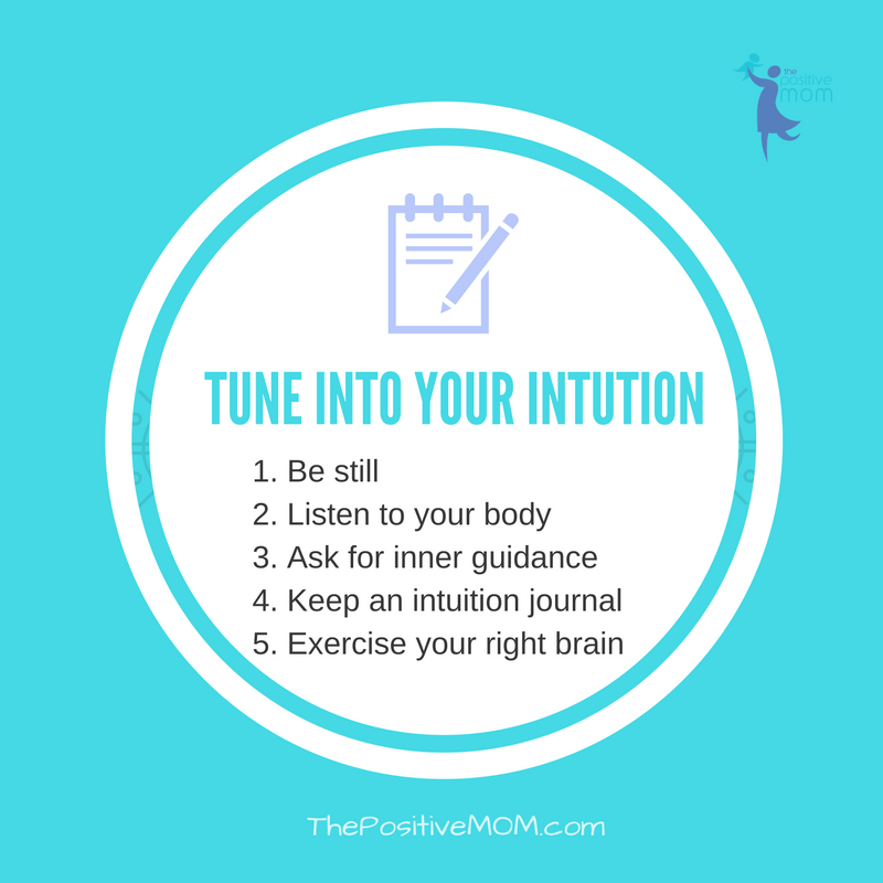 Tune into your intuition | Elayna Fernandez ~ The Positive MOM