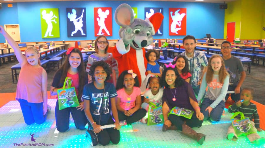 Chuck E Cheeses Birthday Party Celebration