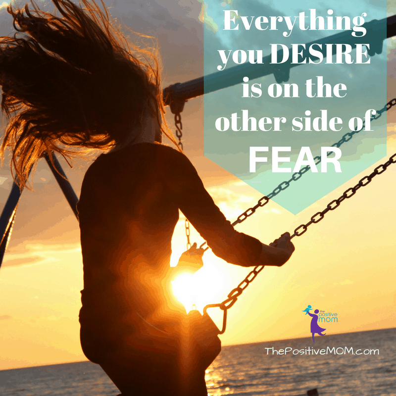 Everything you desire is on the other side of fear.