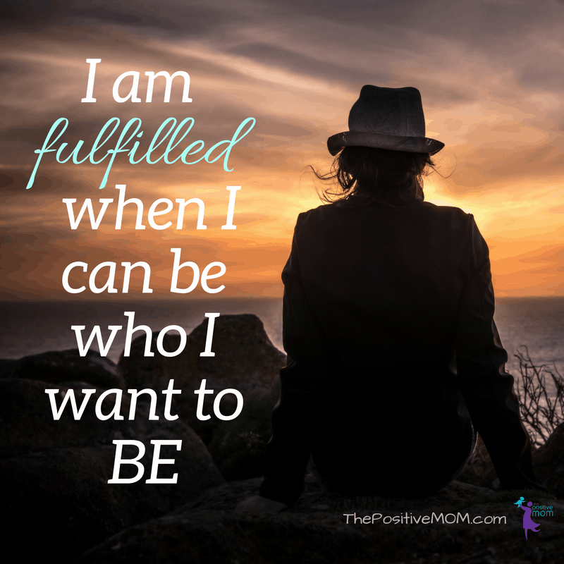 I am fulfilled when I can be who I want to BE ~ Deepak Chopra meditation quote