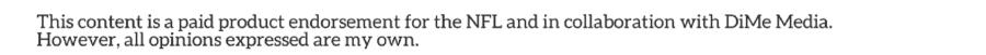 NFL - National Football League - Disclosure