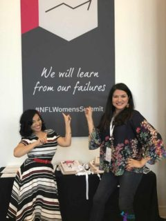 Angela Sustaita Ruiz and Elayna Fernandez - NFL Women's Summit