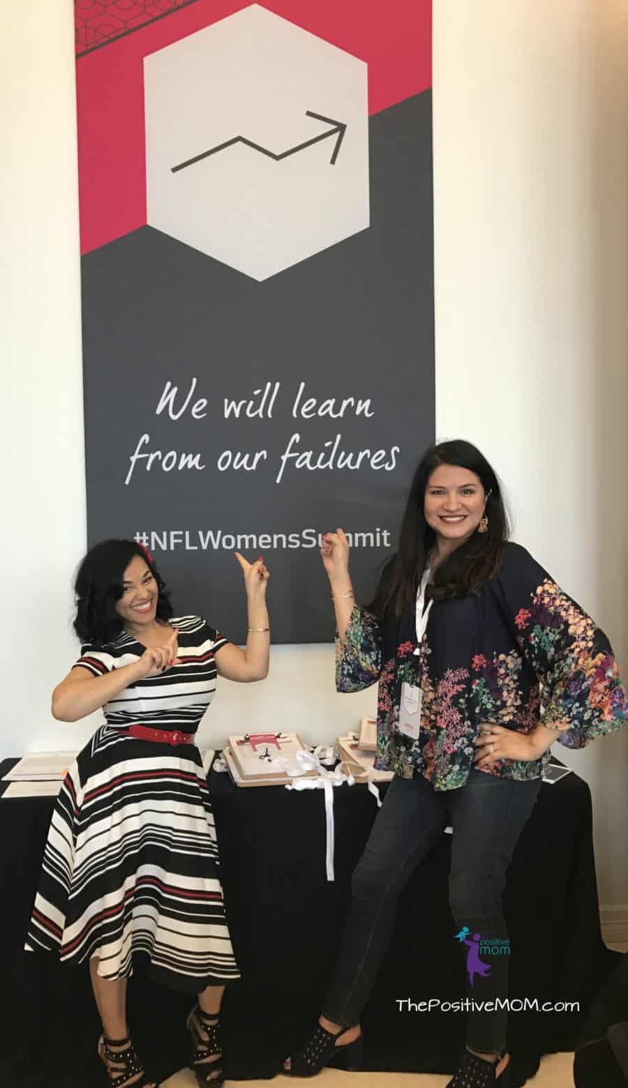 Angela Sustaita Ruiz and Elayna Fernandez - NFL Women's Summit