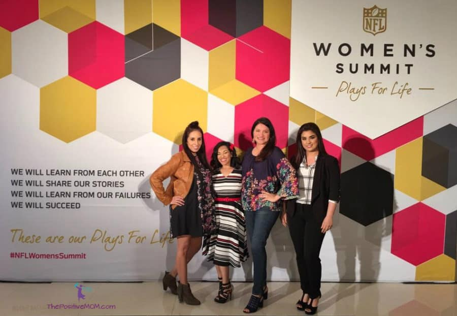 Latina Influencers at the NFL Women's Summit in Houston for Superbowl LI