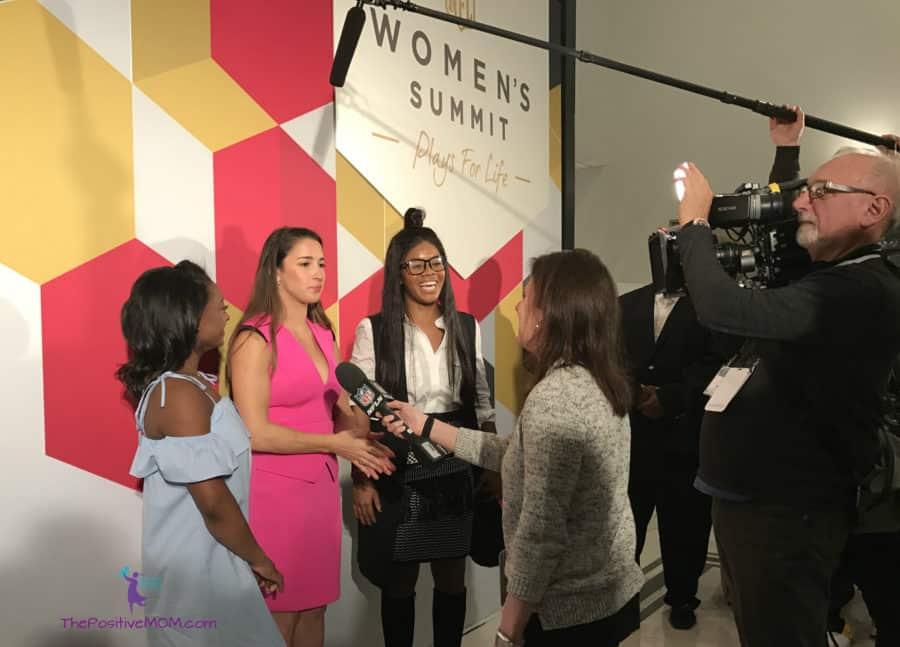 Olympic Medalists Team USA - NFL Women's Summit