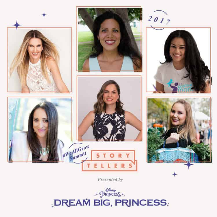 Disney Princess - Dream Big Princess storytellers at WeAllGrow Summit 2017