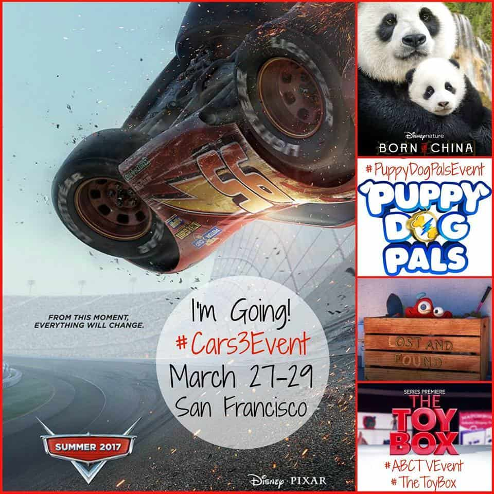 Invited by Disney Pixar to San Francisco Cars 3 #Cars3Event