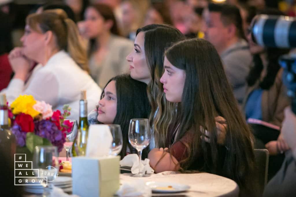 Melissa Bailey ~ Hungry Food Love ~ with Elisha and Elyssa of WhollyART at #WeAllGrow Storytellers