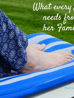 What every mom needs from her family