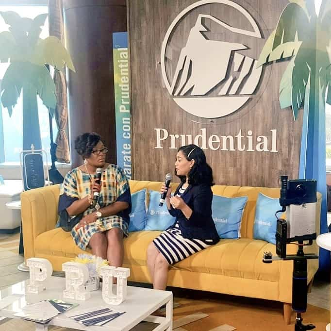 "Motivated Mom and The Positive MOM interview ""Motivating Moms To Financial Success"" with Prudential at Hispanicize 2017"