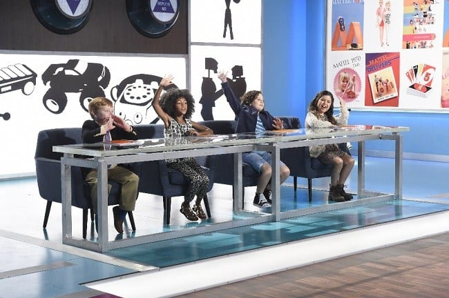 Judges on The Toy Box on ABC