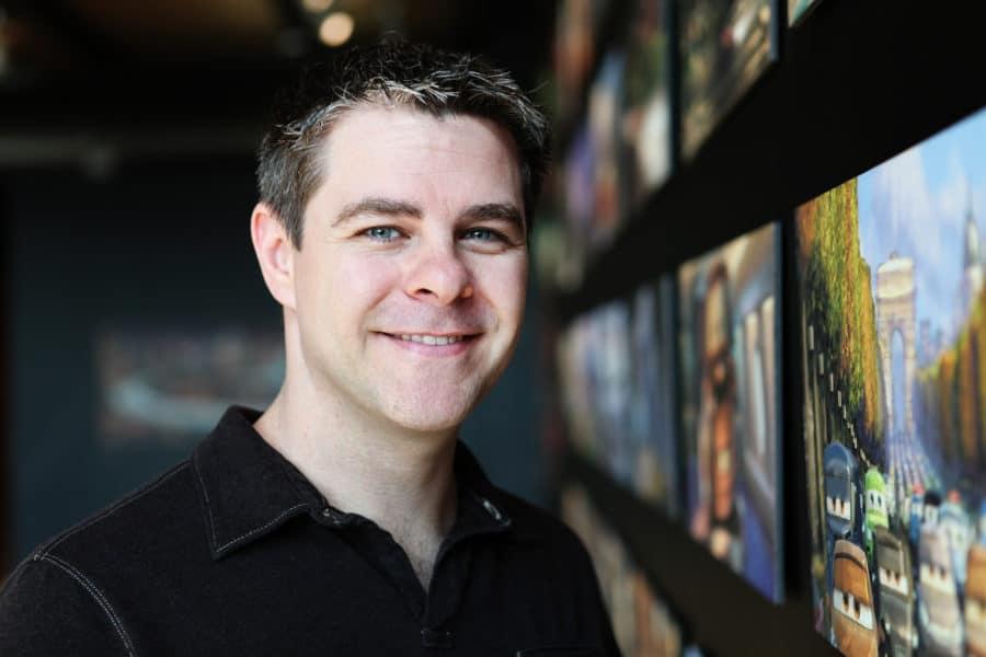 Scott Morse is photographed on January 6, 2012 at Pixar Animation Studios in Emeryville, Calif. (Photo by Deborah Coleman / Pixar)