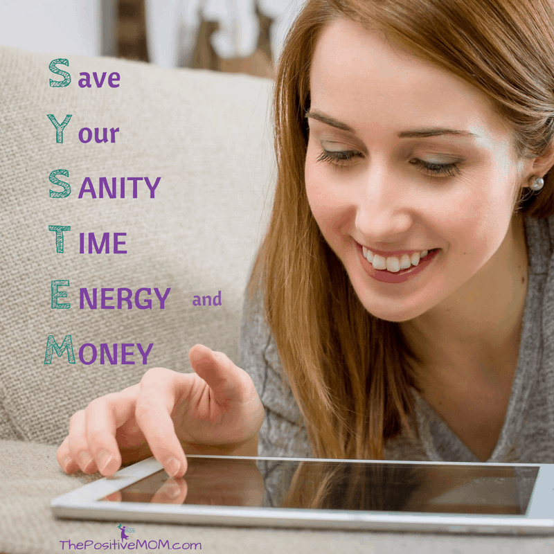 Save Your Sanity Time Energy and Money - Elayna's SYSTEM Acronym