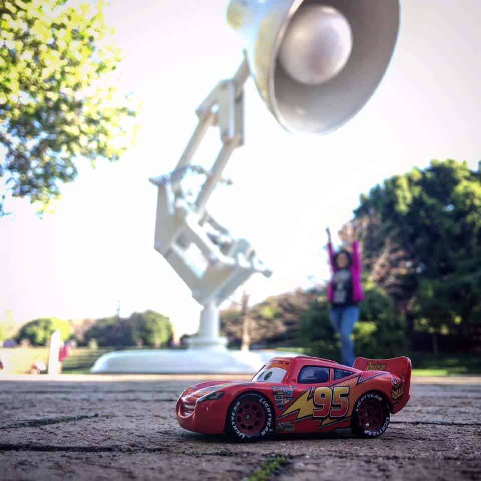 Disney Pixar Studios Lamp - Cars 3 - Lightning McQueen
