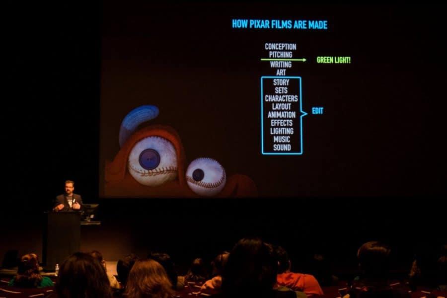 How a Disney Pixar short comes together: LOU