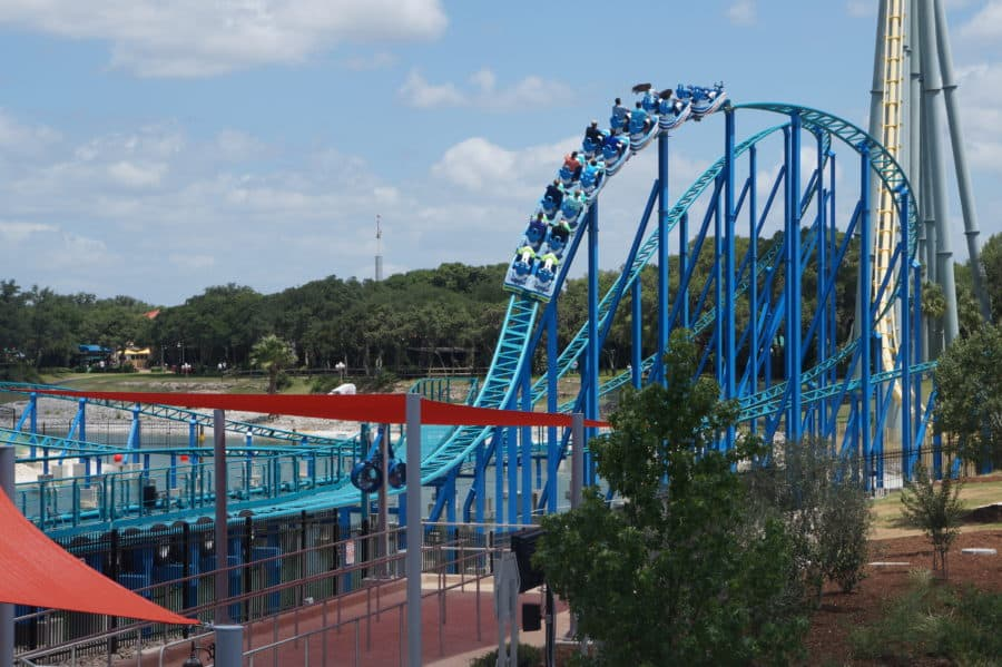 New Attraction - SeaWorld Texas - Wave Breaker: The Rescue Coaster