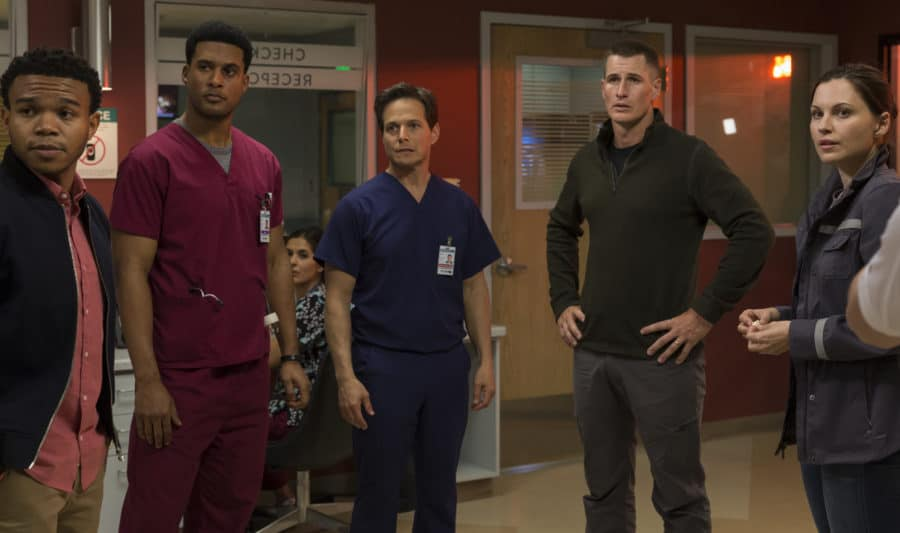 The Night Shift- Season 4- Episode 401 - cast