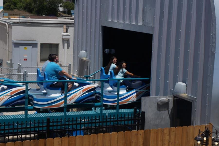Wave Breaker SeaWorld Texas Coaster