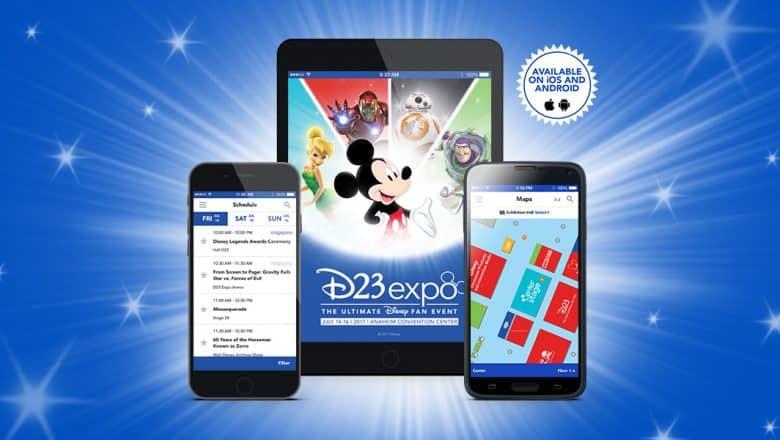 D23 Expo app
