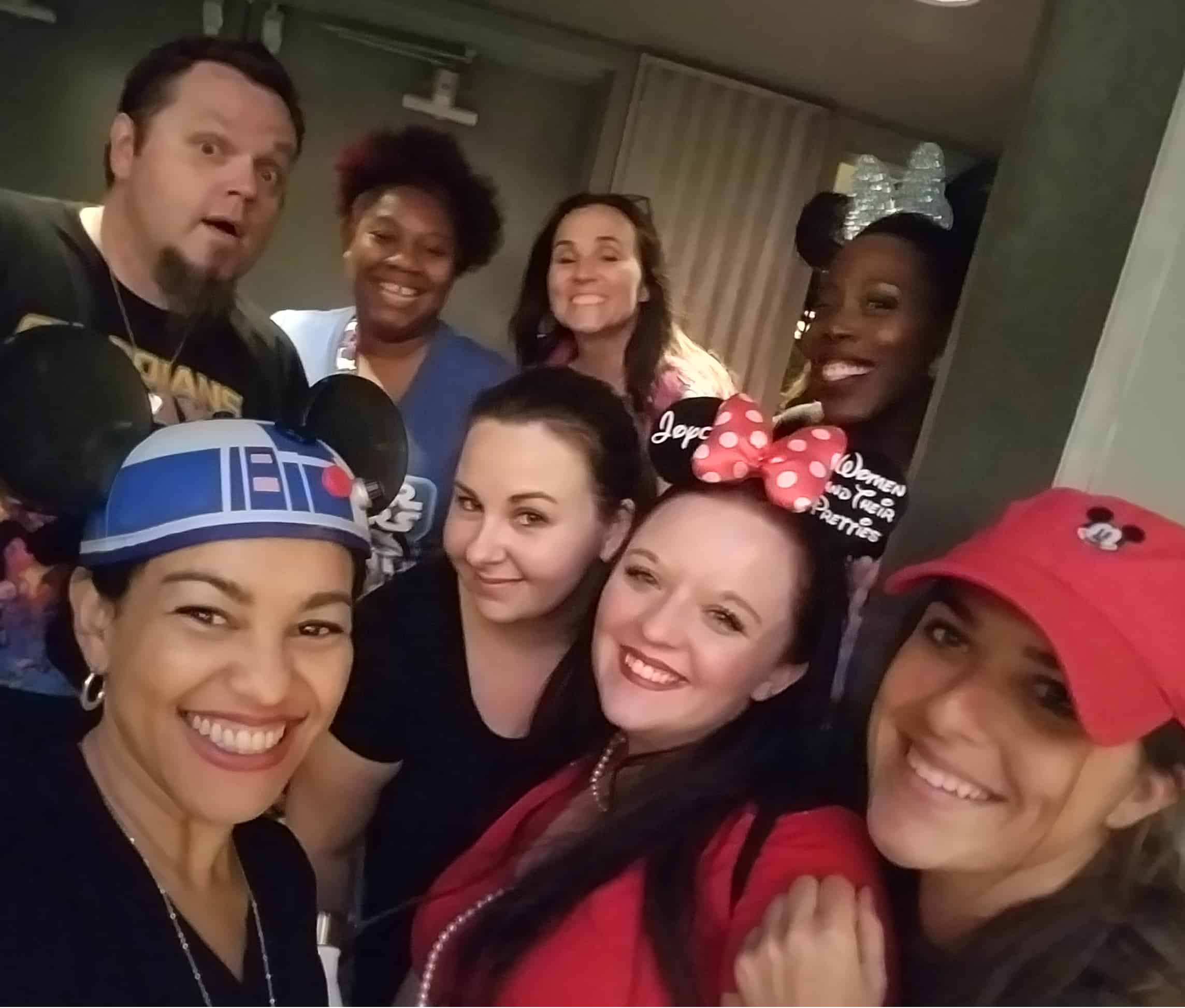 While at D23 Expo - Disneyland and Disney California Adventure - Summer of Heroes - Blogger Selfie