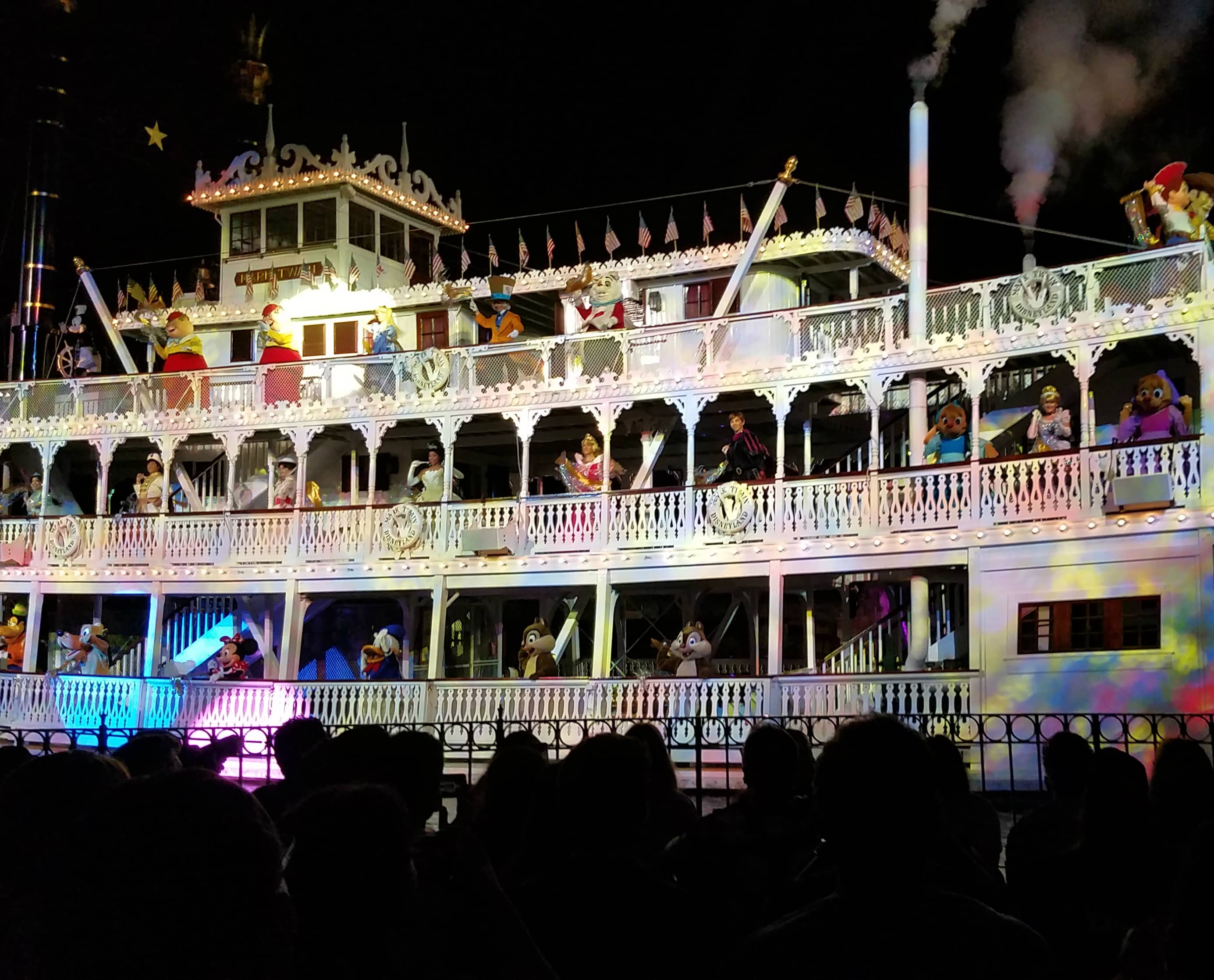 While at D23 Expo - Disneyland and Disney California Adventure - Character Ferry