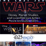 D23 Expo Recap: Disney, Marvel Studios & Lucasfilm Live Action Movie Announcements